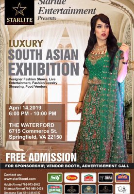 Luxury South Asian Exhibition